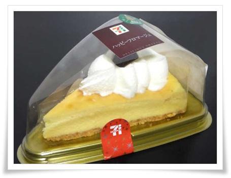セブンイレブンのクリスマスはチーズケーキも凄い!値段や種類まとめ『ハッピーフロマージュ』