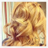 No Heat Pin Curls {how to}
