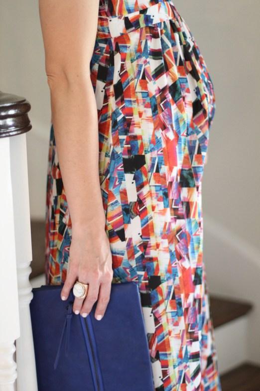Maternity Maxi Dress 6