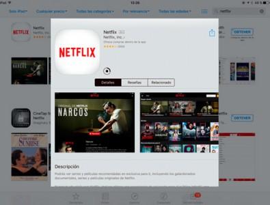 Prueba Netflix durante un mes gratis en tu iPad o iPhone | Mobility