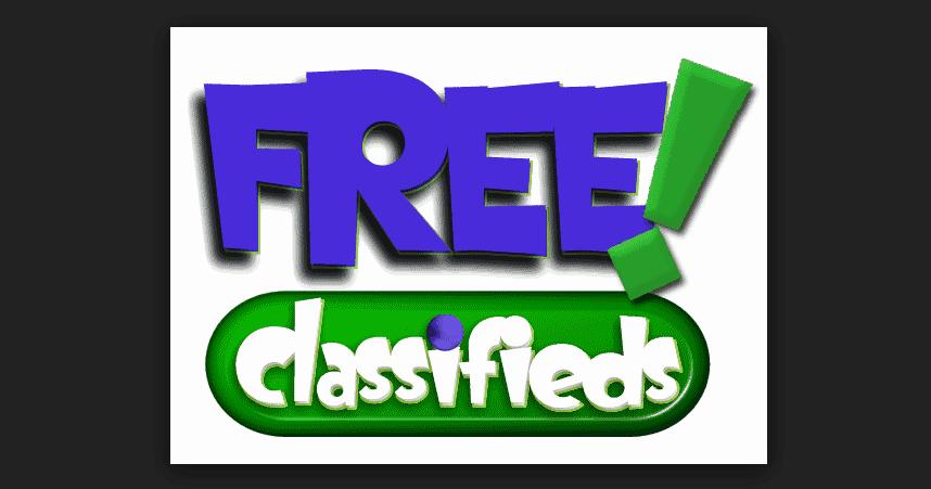 free classified ads