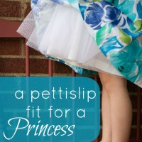 Make Your Own Petticoat - Tutorial