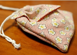 Tutorial origami drawstring pouch sewing for Drawstring jewelry bag pattern