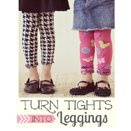 Tights into Leggings Tutorial at u-createcrafts_com_thumb