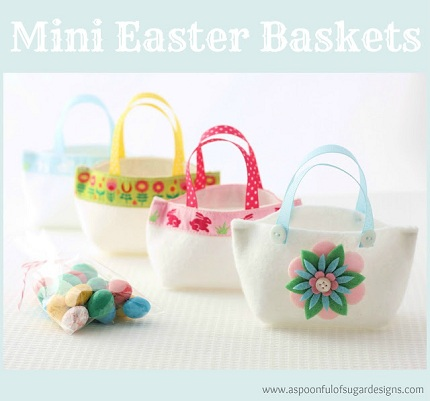 Mini Easter Baskets Tutorial