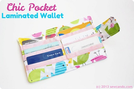 Chic Laminated Wallet Inner SCD2