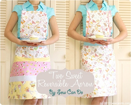 Two Sweet Reversible Apron