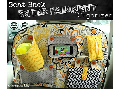 Button - Seat Back Entertainment Organizer Title