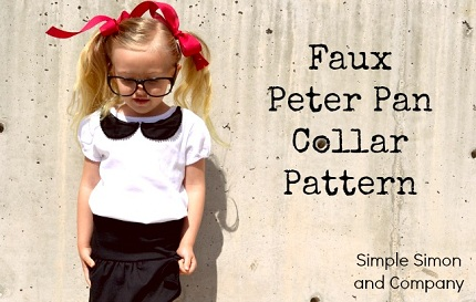 Faux Peter Pan Collar Pattern