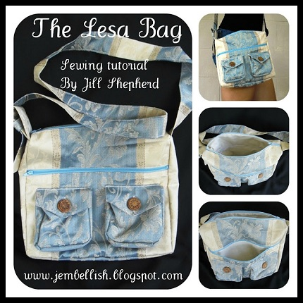 The Lesa Bag tutorial