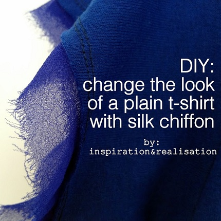 inspiration&realisation_diy_change_the_look_of_plain_t-shirt_with_silk_chiffon