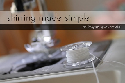 shirring made simple