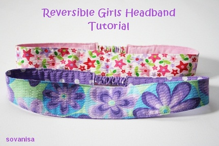 Fabric Headband! - Free Sewing Patterns, Learn to Sew Your