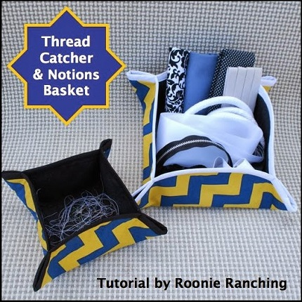 Tutorial: Thread catcher and notion basket