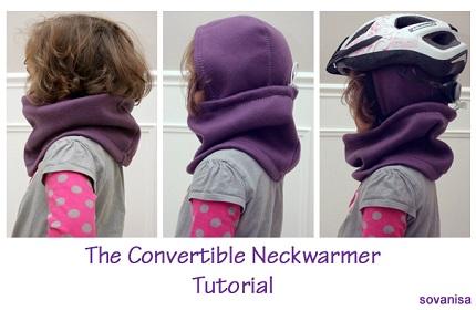 Tutorial: Child's convertible neck warmer