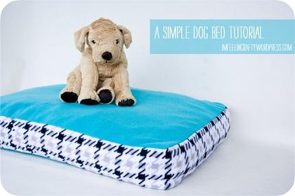 Tutorial: Simple fleece dog bed