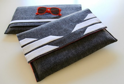 Tutorial: His and hers laptop sleeves
