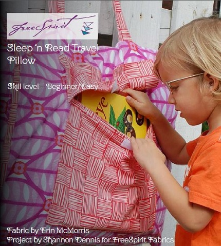 Tutorial: Sleep 'N Read Travel Pillow