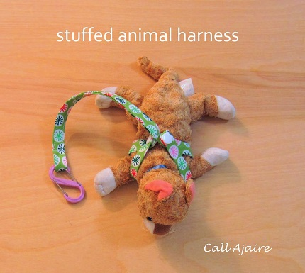 Tutorial: Stuffed animal harness
