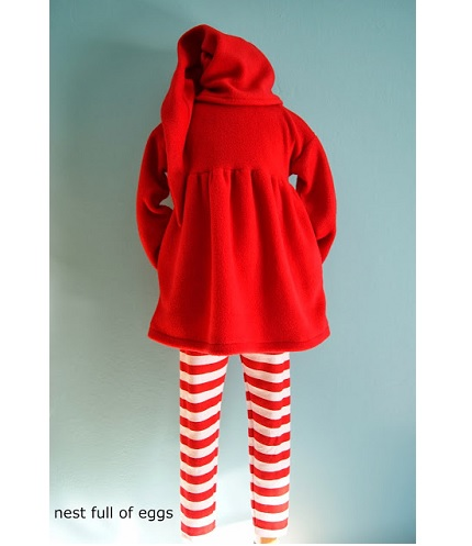 Scandinavian tomte outfit, plus an elf hat how-to