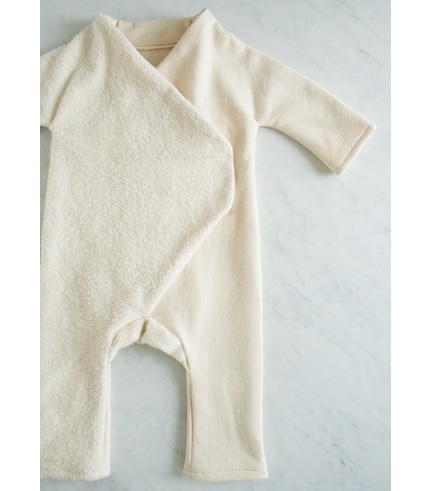 Free Pattern Fleece Baby Jumpsuit Sewing