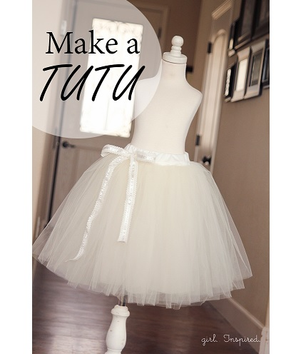 Tutorial: Make a tutu for dress-up or layering