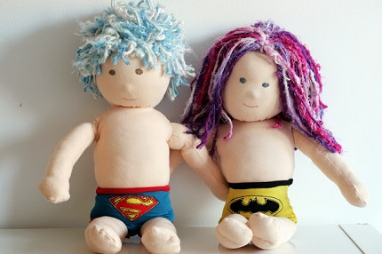 Tutorial: Superhero underpants for a doll