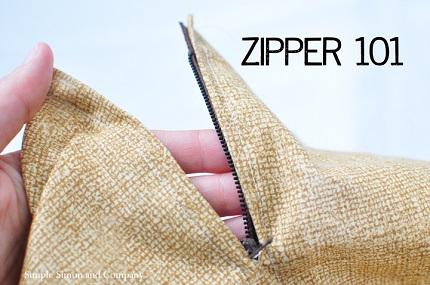 Tutorial: Install a centered zipper