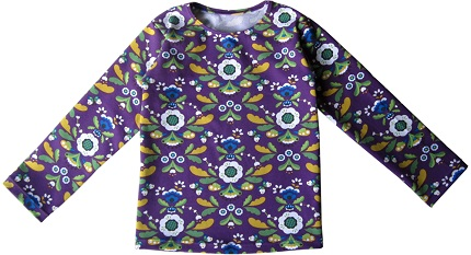 Free pattern: Child's basic long-sleeved t-shirt