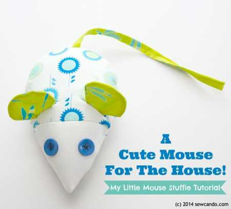 Free pattern: Little Mouse Stuffed Toy
