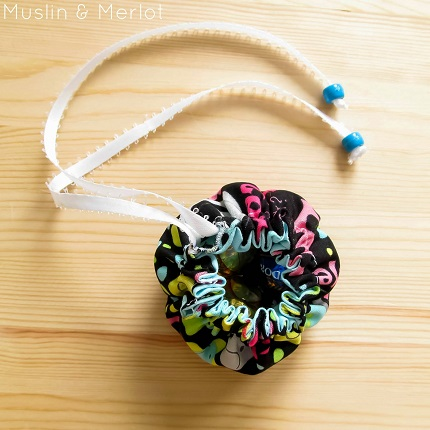 Tutorial: Drawstring favor sacks