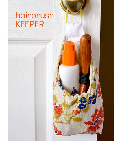 Tutorial: Hairbrush Keeper