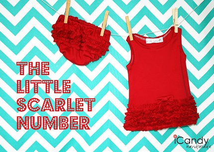 Tutorial: Little Scarlet Number ruffled A-line baby dress