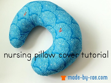 Tutorial: Nursing pillow cover
