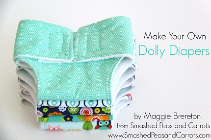 Free pattern: Dolly diapers