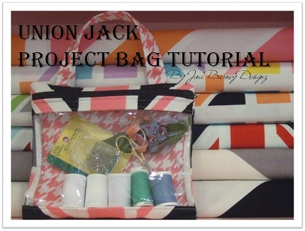 Tutorial Clear Front Zippered Project Bag Sewing