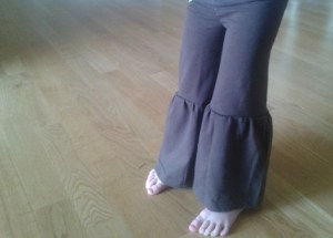 upcycled t-shirt pants