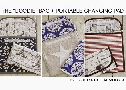 "Tutorial: The Double ""Doodie"" Bag"