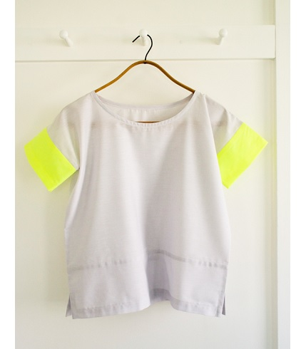 Tutorial: Boxy color blocked top, three ways