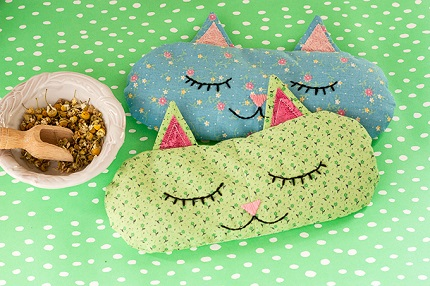 Tutorial: Cat Nap aromatherapy pillow