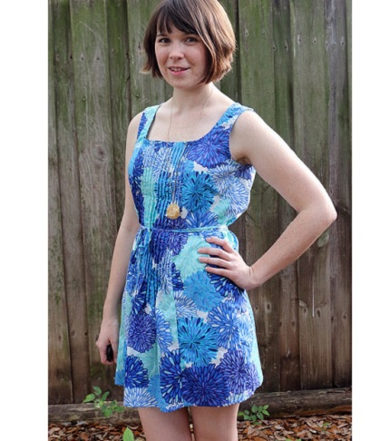Tutorial: Pintuck front summer dress