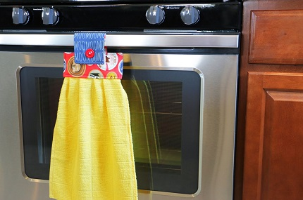 Tutorial: Hanging hand towel