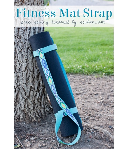 Tutorial: Strappy Fitness Mat Carrier