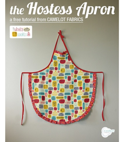 Tutorial: Ruffle hem hostess apron