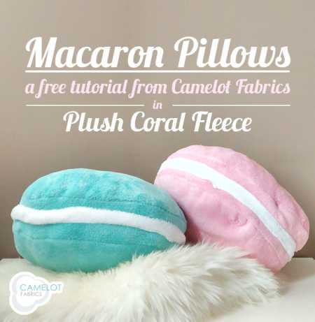 Tutorial: Plush macaron pillows