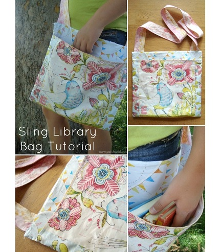Tutorial: Sling library book bag