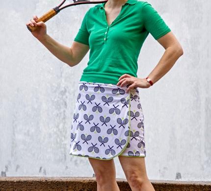 Tutorial: How to make a tennis skirt