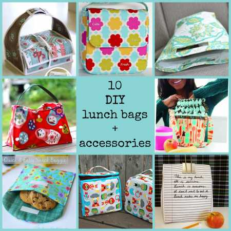 10 DIY lunch bags