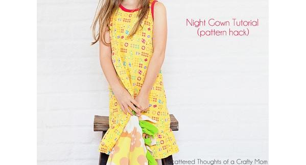 Tutorial: Little girl's nightgown