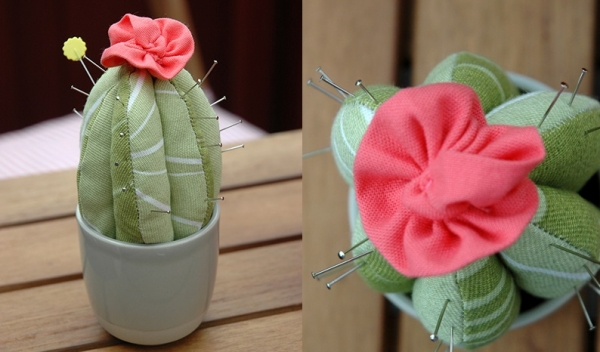 Tutorial: Cactus pincushion
